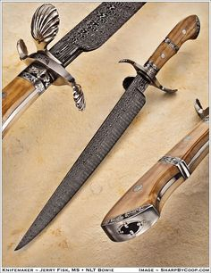 Another great knife by Jerry Fisk M.S.