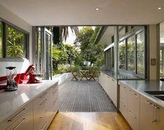 Image result for kitchen onto deck