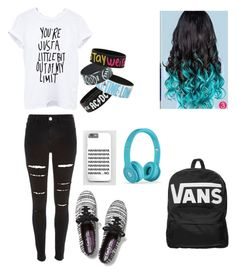 """school day"" by ash-irwin-1994 ❤ liked on Polyvore featuring Vans, River Island and Keds"