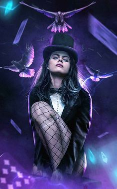 hot sex fan art de Alexandra Daddario como Zatanna