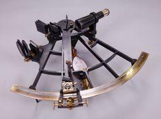 Sextant Hurlimann, 1888, Université de Lille – Sciences et technologies, Laboratoire d'Astronomie de Lille (crédits photo : SEMM)