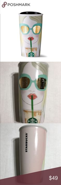 Starbucks Los Angeles Double Wall Tumbler Brand NEW, never used, Starbucks Los Angeles Double Wall Ceramic Tumbler. Holds 12 oz. Rare and hard to find. Other