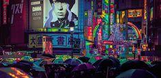 El escocés Liam Wong ha hecho una carrera dentro del diseño gráfico para videojuegos, y sus espectaculares fotografías dan cuenta de ello.