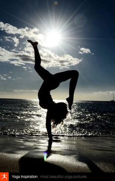 Beauty in yoga.