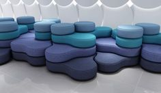 Tapa Breakout Modular Seating is a playful seating solution that introduces fun and flexibility into the office, allowing you to create meeting spaces with endless configuration possibilities. Couch Furniture, Modular Furniture, Street Furniture, Refurbished Furniture, Leather Furniture, Office Furniture, Furniture Dolly, Furniture Showroom, Plywood Furniture