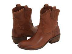 Frye Carson Shortie Cognac Full Grain Leather - 6pm.com