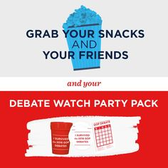 Save the date (August and order your official GOP Debate Watch Party Pack today! Gop Debate, Love Life, My Love, Party Packs, Bern, Save The Date, Feelings, Watch, Style