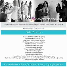 Lowongan Kerja Sales Stylish Key Photo Production ( Key Photo Pro ) Bandung Juli 2018