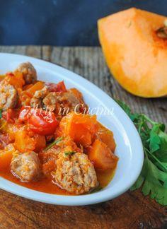 Zucca con salsiccia in padella ricetta veloce vickyart arte in cucina