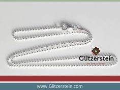 Kugelkette Echtsilber Shops, Diy Schmuck, Silver, Tents, Retail