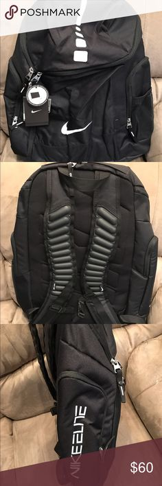 Nike Elite Backpack Black backpack that fits most 15