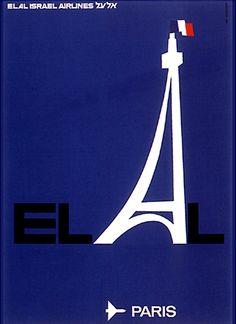El Al - Paris by Dan Reisinger