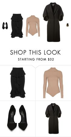 """""""Untitled #2584"""" by amberelb ❤ liked on Polyvore featuring Topshop, Kurt Geiger, Givenchy and Yves Saint Laurent"""