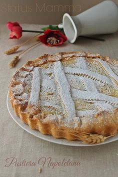Pastiera napoletana ricetta Napoli partenopea di Pasqua Statusmamma blogGz blog Giallozafferano dolce foto blogger tutorial ricetta cucinare grano ricotta pasta frolla