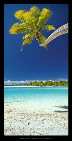 "✮ Tapuaetai ""One Foot"" Island - Aitutaki Atoll - Cook Islands"