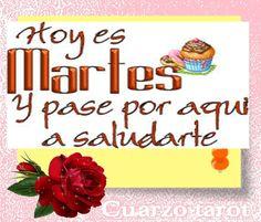 https://www.cuarzotarot.es/tarot-visa https://www.cuarzotarot.es/blog #FelizMartes #FelizDía