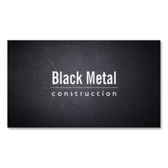 Dark Leather Texture Constructions Business Card. Make your own business card with this great design. All you need is to add your info to this template. Click the image to try it out!