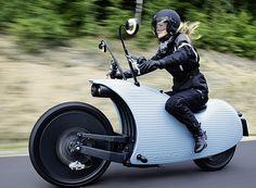 カタツムリみたいな電動バイク「Johammer J1」―航続距離は電動バイク初の200キロ超え!