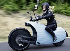 Johammer - snail-like - electric motorcycle #innovation #motorcycle