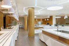 СТОЛОВАЯ В БЦ GRAND SETUN PLAZA - Лучший интерьер ресторана, кафе или бара | PINWIN - конкурсы для архитекторов, дизайнеров, декораторов