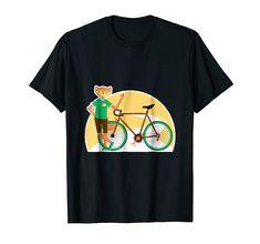 Amazon.com: Funny Cycologist Bike TShirt, Fox Cyclist Bicycle Gift Shirt: Clothing