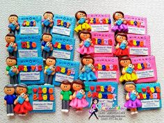 Image result for birthday clay souvenir Diy Birthday Souvenirs, Christening Giveaways, Baptismal Souvenir, Christening Decorations, Baby Boy Baptism, Boy First Birthday, First Birthdays, Monthsary, Birthday Parties