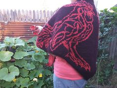 Ravelry: Celtic Chicken Shawl pattern by Tania Richter