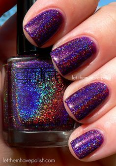 Dark Purple Holo