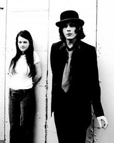 Jack and Meg The White Stripes