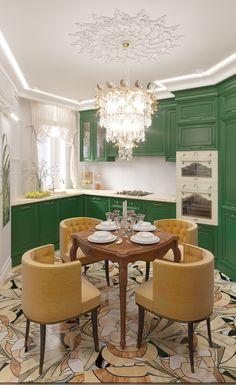 Роскошная кухня  в Москве