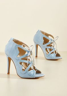 Heartbeat You to It Heel in Sky, #ModCloth