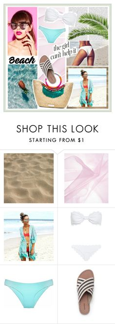 """It´s a mess"" by sarabarlaup on Polyvore featuring Oris, Marysia Swim, Jennifer Lopez and Lands' End"