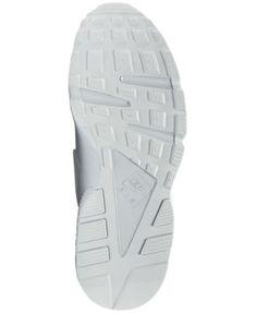 Nike Men's Air Huarache Run Running Sneakers from Finish Line - White 10.5
