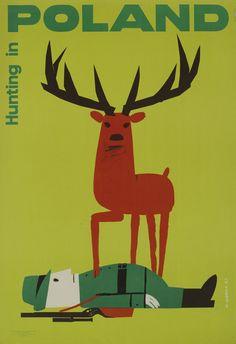 Hunting in Poland. Wiktor Gorka. 1961