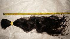 wavy bulk hair 50cm