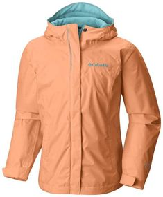 The perfect rain jacket for camp, the Girls Arcadia features Omni-Tech™ technology, so it's waterproof yet breathable. Choose from 3 colors and order today! Girls Rain Jackets, Columbia Girls, Rain Gear, Lining Fabric, Material Girls, Trunks, Windbreaker, Raincoat, Pants