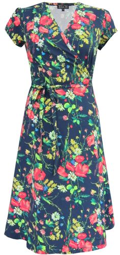 Flower field dress by Zilch. Now availlable at Solvejg.
