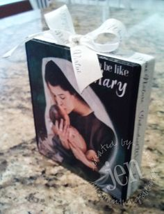 """""""I Want To Be Like Mary"""" lesson handout ... inspired by RedHeadedHostess.com"""