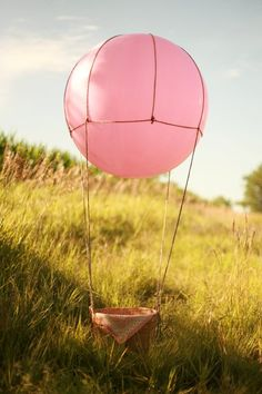 how to make a hot air balloon stage prop