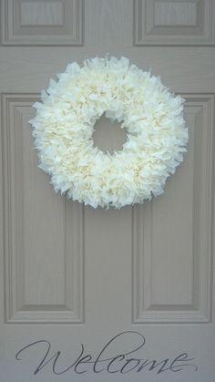Indoor Outdoor All-Weather Wreath...Buttercream. Spring Wreath, Front Door Wreath, Easter, Summer, Baby Shower, Mother's Day, Birthday! on Etsy, $27.98
