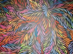 Live this art Aboriginal Art Australian, Indigenous Australian Art, Australian Tumblr, Black Velvet Chair, Aboriginal Painting, Sand Painting, Painted Leaves, Art Google, Wood Carving