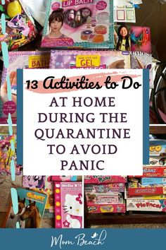 Are you shut indoors because of Here are a list of 13 activities to do at home during quarantine to avoid panicking. There are so many activities to do at home such as DIY crafting, cooking new meals, playing board games, and more! Indoor Activities For Toddlers, List Of Activities, Hands On Activities, Family Activities, Outdoor Activities, Amazon Coloring Books, Beach Mom, Things To Do At Home, Activity Board