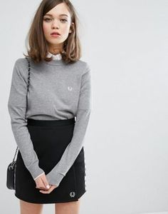 Fred Perry Authentic Tipped Crew Neck Sweater