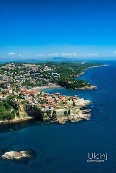 Perfect vacation homes by the ocean. Ulcinj, Montenegro