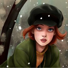 Anastasia. YES, I KNOW SHE'S NOT DISNEY. by PASTEL.ETTE