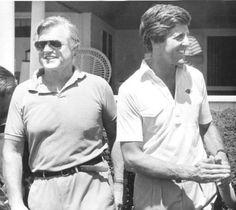 Senator Edward Kennedy and Senator John Kerry Joan Bennett, Ted Kennedy, Step Kids, Jfk, Famous People, Victoria, American, Celebrities, Celebrity