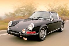 "Someone asked me why there is no Porsche on my ""Other beautiful cars"" board, there it is, the only one Porsche worthy of my board, the early 911 Targa"