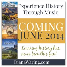 The excitement is building! Coming soon -- Experience History Through Music from @Diana Avery Avery Avery Lynn!  #homeschool #history #music