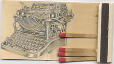 Dude Craft: Three on a Match - Jason D'Aquino's Matchbook Drawings
