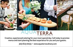 AQUA TERRA Culinary – Colorado Wedding & Special Events Catering